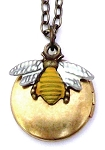 Honey Bee Locket