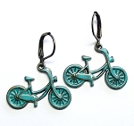 Bicycle Earrings