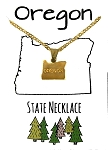 Oregon State Necklace