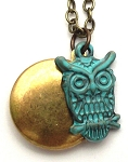 Owl Locket