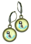 Yellow Bird Earrings