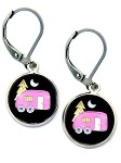 Pink Camper Earrings