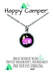 Pink Camper Necklace