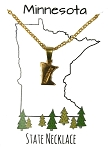 Minnesota State Necklace