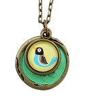 Yellow Bird Necklace