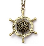 Ships Wheel Necklace 28