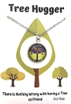 Green Tree Hugger Necklace