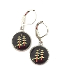 Pine Tree Take a Hike Earrings