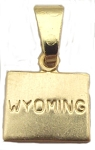 Wyoming State Necklace