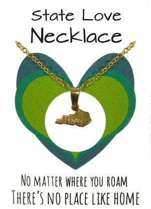 Kentucky State Necklace