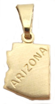 Arizona State Necklace