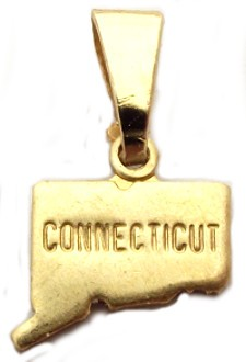 Connecticut State Necklace