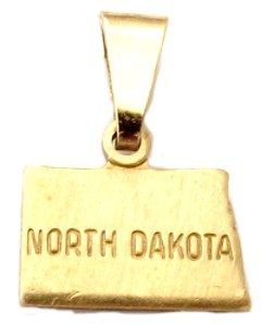 North Dakota State Necklace