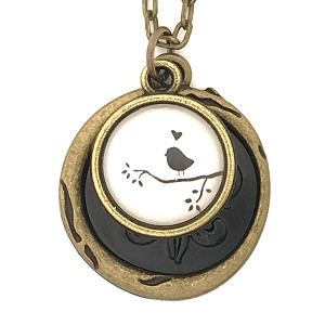 Black Bird Necklace