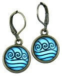 Ocean Wave Earrings