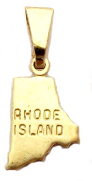Rhode Island State Necklace